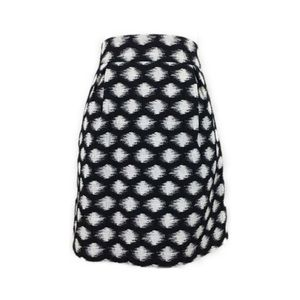 Banana Republic Geo Jacquard Flare Mini Skirt